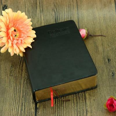 Vintage Thick Paper Notebook Notepad Leather Bible Blank Journal Diary Book Gift
