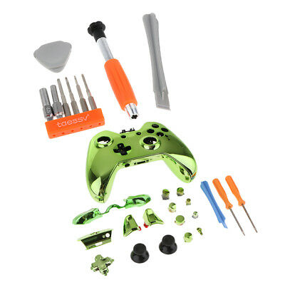 Replacement Housing Shell Kit for Xbox One Controller Button Screwdriver Set