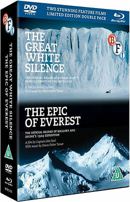 The Epic of Everest / The Great White Silence Box Set (Blu-ray) *BRAND NEW*
