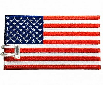 Country Flags Embroidered Luggage tags (NEVER BREAK!)