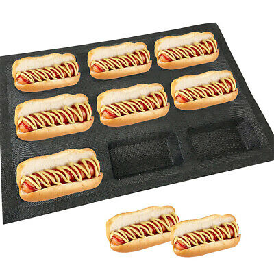 Perforated Silicone Baking Mold Sandwich Bread Form English Bread Tray 9 Cup