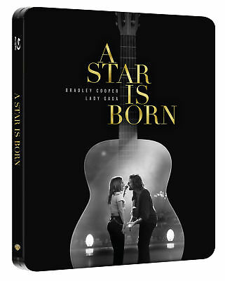 A Star is Born (STEELBOOK) (2018) (Blu-ray) (Region Free) (New)