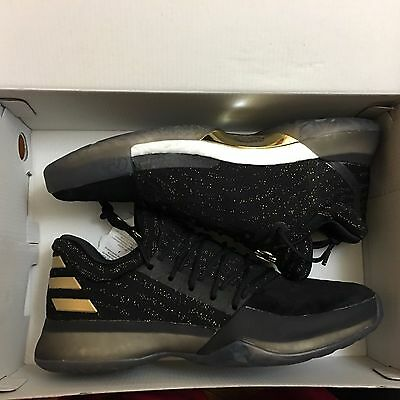 new styles b8e23 d36a0 adidas Harden Vol. 1 Imma Be a Star Primeknit Volume DS NEW Boost Black Gold