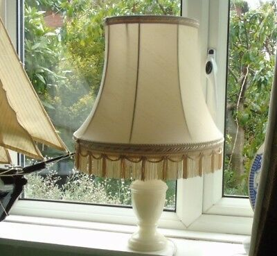 Selection of vintage lamps - all available to buy separately onyx brass wood