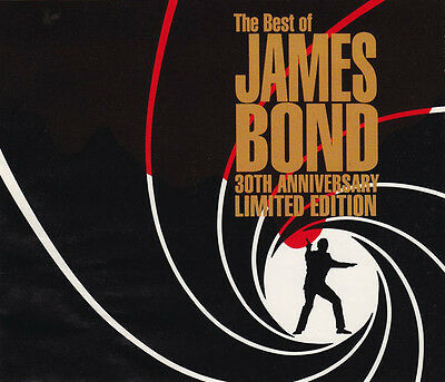 THE BEST OF JAMES BOND 30th ANNIVERSARY LIMITED EDITION 2 CD SET FATBOX
