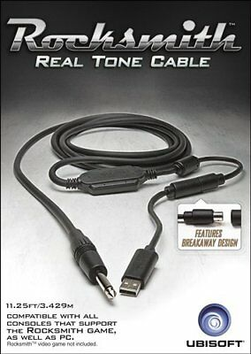 Rocksmith Real Tone Cable For PC/PS4/PS3/XBOX ONE - NEW LOOSE