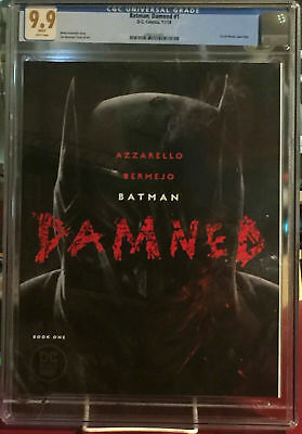 🔥🔥DC Comics BATMAN DAMNED #1 UNCENSORED CGC 9.9 NOT 9.8 or 10 + BONUS! 🔥🔥