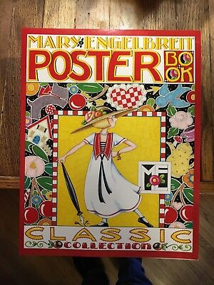 Mary Engelbreit Poster Book Classic Collection Of 12 Images 2001