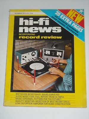 HI-FI NEWS X3 Copies 1970 Stereo AMPLIFIERS Turntables etc