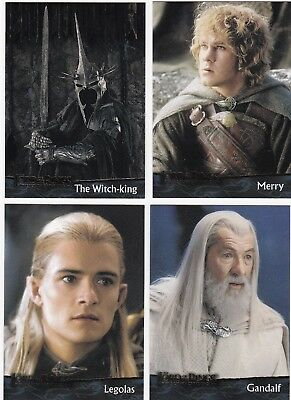 20 Different Lord Of The Rings Cards, 2004, The Return Of The King, Nice Lot 5.