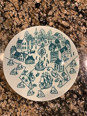 Nymolle Art Faience HOYRUP Made in Denmark Limited Edition 6007 Small Plate 4.75
