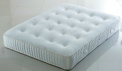 LUXURY CASHMERE MEMORY FOAM mattress | 10 inch thick | tufted | soft and firm
