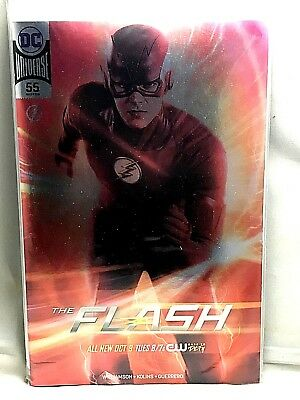 The Flash #55 SDCC TV Photo Foil Variant