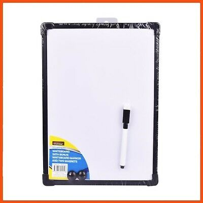 24 x MAGNETIC WHITEBOARD with MARKER/ERASER 29 x 22 cm | Portable White Board