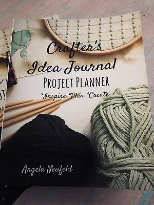 Crafters Journal Organizer Planner Book Fill In Style Creative Project Planner