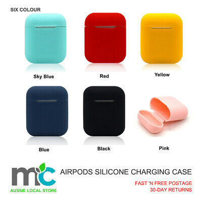 AirPods Silicone Charging Case Cover Protective Skin for Apple Airpod