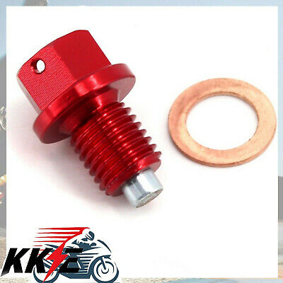 Magnetic Oil Drain Plug Bolt /& Washer For Honda XR 125 L 2003-2006