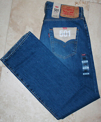 LEVI'S 501 men Jeans STRAIGHT FIT 100% cotton W30 L30 NEW WITH TAGS color:Marrs