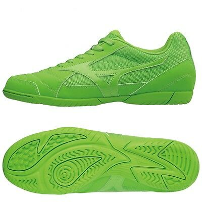 2f193ccb94194 Scarpe Calcetto Mizuno Sala Club 2 In Futsal Indoor Outdoor Colore Verde