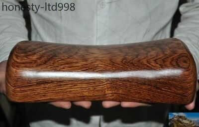 Chinese palace Huanghuali wood carving Health care pillow Weeping Willow Pillow