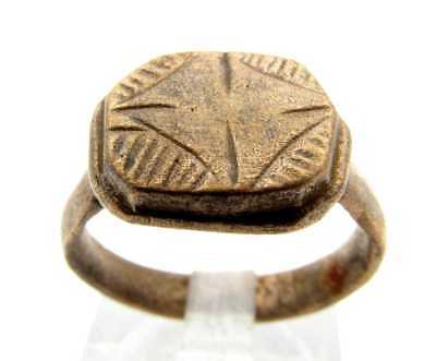 Medieval Star Ring (Size 6)