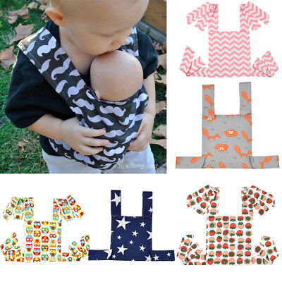 AU Toddler Baby Doll Carrier Doll Ring Sling Children's Floral Toy Ring Sling