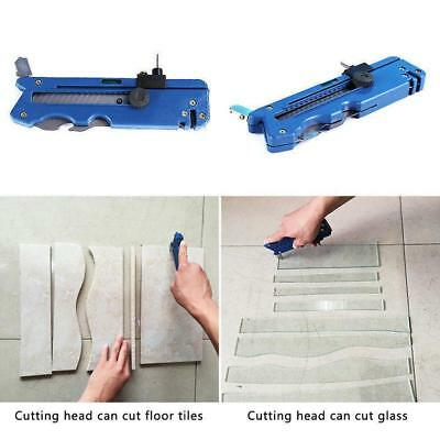 Multifunction Glass Tile Cutter Sharpener Cutting Craft Hand Tool