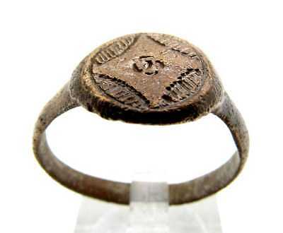Viking Ring With Design (Size: 10.25)