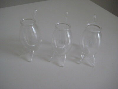 Vintage Port Sippers  (3) Hand blown Glass by Argyle  -BRAND NEW AND PERFECT
