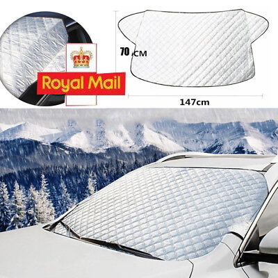 UK Car Windscreen Cover Snow Frost Ice Winter Sun Shade Dust Protector Shield