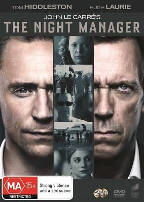 The Night Manager - 2 Disc Dvd - Brand New - Tom Hiddleston, Hugh Laurie