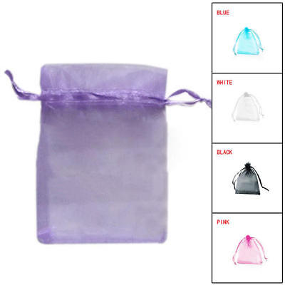 100pcs Organza Wedding Xmas Party Favor Gift Candy Bags Jewellery pouches Gifts