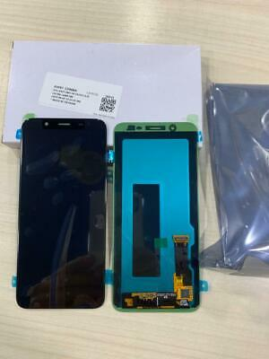 Display Lcd + Touch Samsung Galaxy A600F A6 2018 Nero  SERVICE PACK ORIGINALE