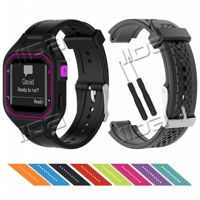 For Garmin Forerunner 25 Watch Band Replacement Sport Silicone Wrist Strap Soft