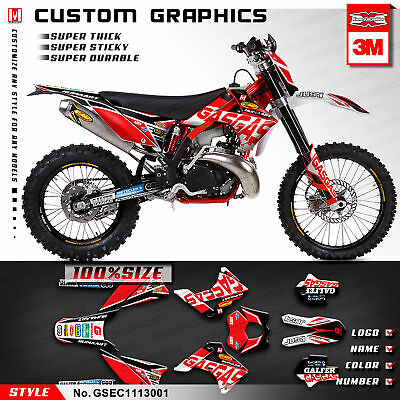 2011 2012 2013 GAS GAS EC 125 200 250 300 450 2T 4T Six Days Graphics Kit Decals