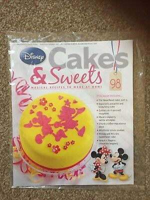 Eaglemoss Disney Cakes & Sweets Magazine #98