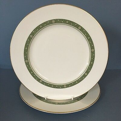 Royal Doulton Rondelay pair of dinner plates