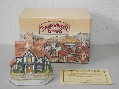 David Winter Cottages The Rectory 1993 figurine