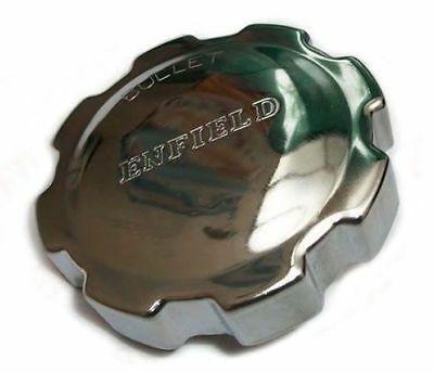 New Royal Enfield Petrol Fuel Tank Push Lock Cap Chrome Plated 141368 GEc