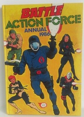 Battle Action Force Annual 1986