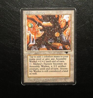 MTG Mishra's Factory! FALL! AUTUMN!l!! Antiquities! FAST SHIPPING!!