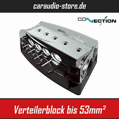 Audison Connection Best BDB51 - Sicherungsverteiler mit Volt Anzeige