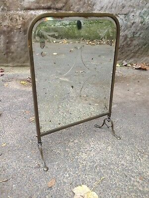 Vintage Mirrored Fire Screen