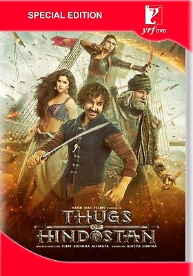 Thugs Of Hindostan Dvd 2018 Bollywood Movie 2-Disc Special Edition Dvd, Aamir