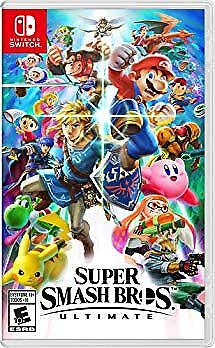 Super Smash Bros. Ultimate by Nintendo for Nintendo Switch (FREE SHIPPING)