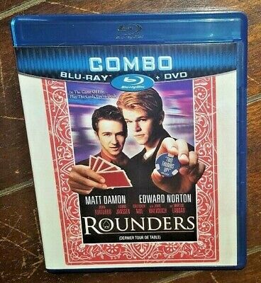 Rounders ☆Used☆ (Blu-ray/DVD, 2011, Canadian)