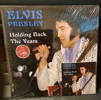 Elvis Collectors LP -  Holding Back The Years 2 LP + CD (Red Edition)