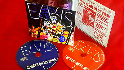 Elvis Collectors 2 CD Set - 'Always On My Mind' and 'The Memphis Record' Rare