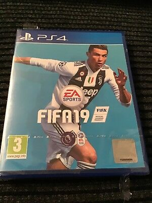 FIFA 19 - Standard Edition (Sony PlayStation 4, 2018) unopened unwanted gift