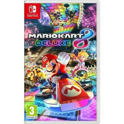 Mario Kart 8 Deluxe Nintendo Switch Game (Free Shipping)